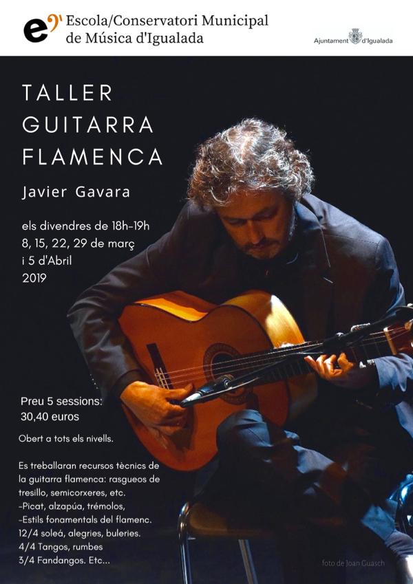 Taller de guitarra flamenca