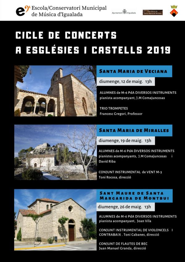 Arriba el Cicle de Concerts d'Esglésies i Castells