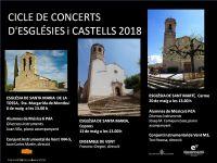 Torna el Cicle de Concerts d'Esglésies i Castells