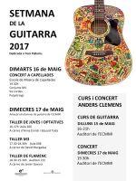 Setmana de la guitarra 2017